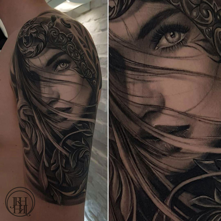 Jieny RH | Tattoo | Girl