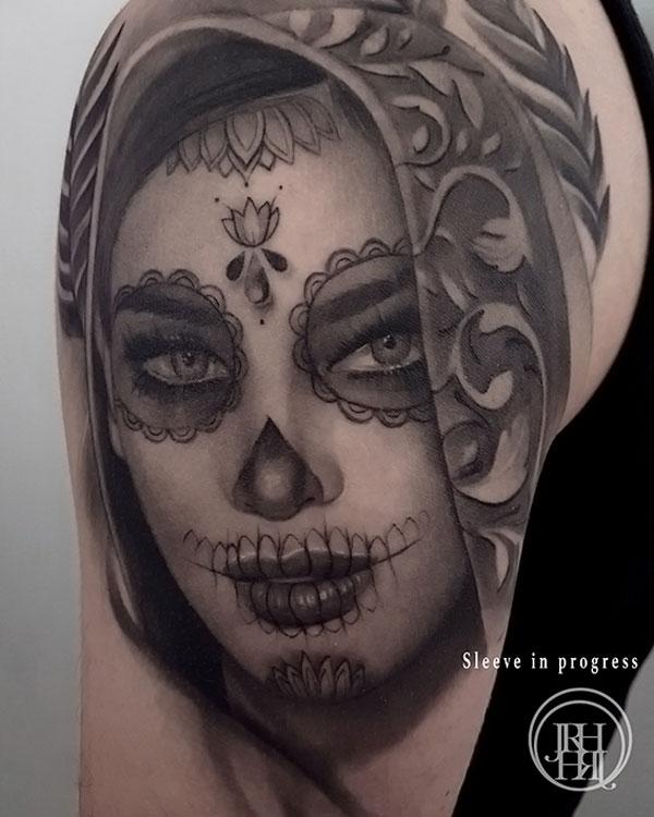 Jieny RH | Tattoo | La Catarina