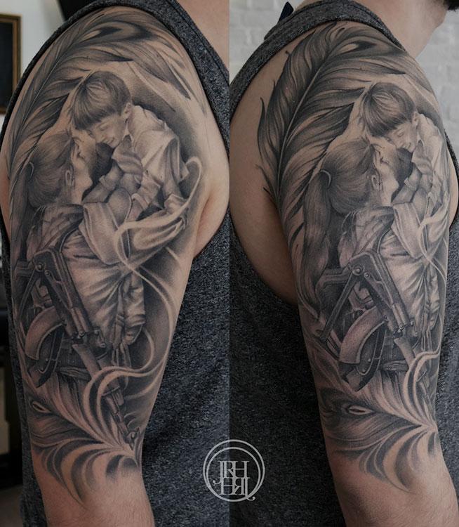 Jieny RH | Tattoo | Peschmerga