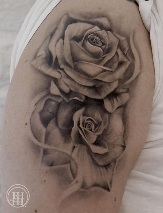 Jieny RH | Tattoo | Rosen