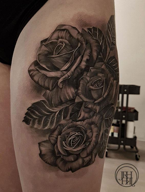 Jieny RH | Tattoo | Roses