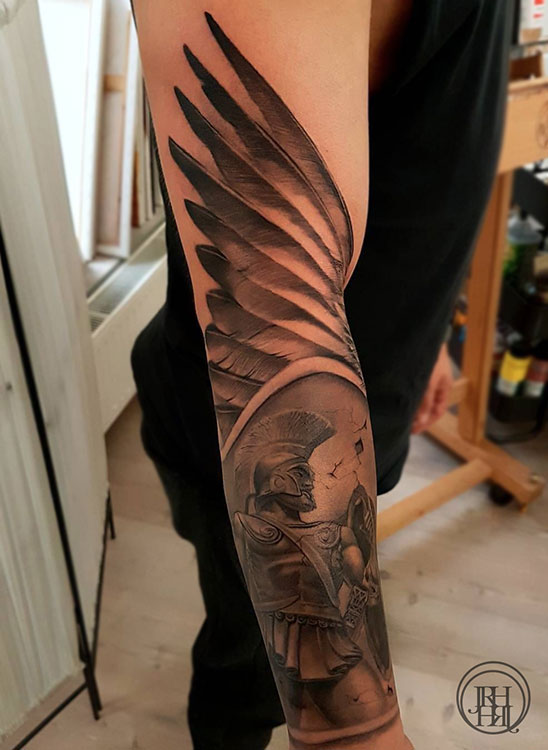Jieny RH | Tattoo | Sparta