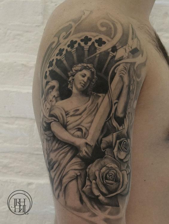 Jieny RH | Tattoo | Statue